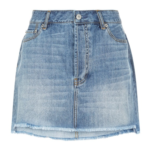 Rails Shane Denim Jean Skirt In Vintage Wash